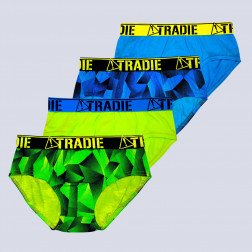 Tradie Boys 4pk brief