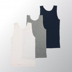 Tradie Boys 3pk Cotton Singlet